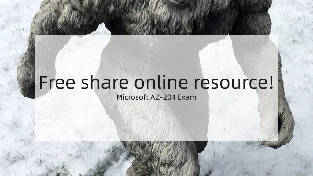 Microsoft AZ-204 exam resource